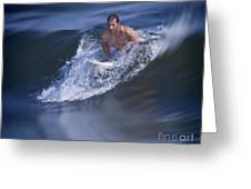 Let's Go Surfing Greeting Card