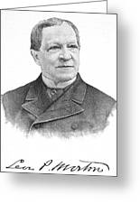 Levi Parsons Morton Greeting Card