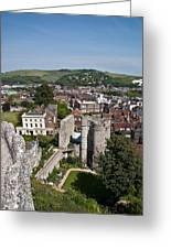 Lewes East Sussex Greeting Card