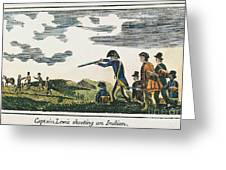 Lewis & Clark: Native American, 1811 Greeting Card