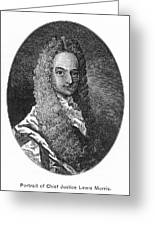 Lewis Morris (1671-1746) Greeting Card by Granger