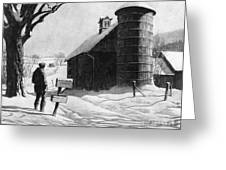 Lewis: R.f.d., 1933 Greeting Card