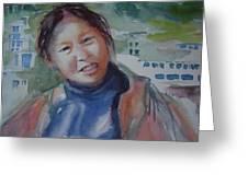 Lhamo-la Greeting Card