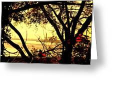 Liberty Fall Greeting Card
