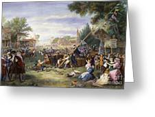 Liberty Pole, 1776 Greeting Card