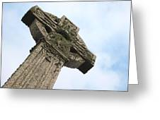Lichen Cross Greeting Card