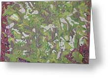 Lichen On Tree Bark-ppml0014 Greeting Card