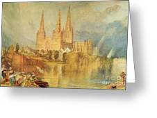 Lichfield Greeting Card