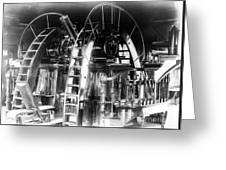 Lick Observatory, Meridian Instrument Greeting Card