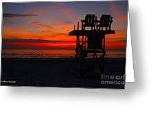 Lifeguard Off Duty Greeting Card