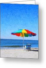 Life's A Beach Greeting Card