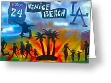 Life's A Beach Greeting Card by Tony B Conscious