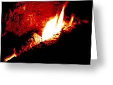 Light And Heat Greeting Card