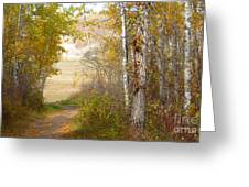Light At The End Greeting Card