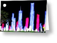 Light City Greeting Card