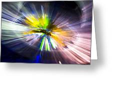Light Explosion Concept Greeting Card