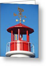 Light House On Coney Island Greeting Card