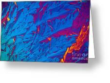 Light Micrograph Of Didanosine Ddi Greeting Card
