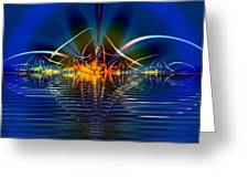 Light On The Water Greeting Card