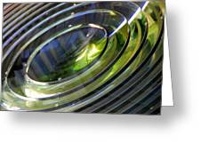 Lighthouse Lens Pensacola Greeting Card