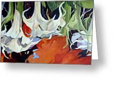 Lilies In Splendor Greeting Card