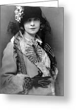 Lillian Gish 1922 Greeting Card