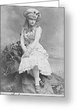 Lillian Russell 1882 Greeting Card