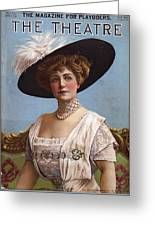 Lillian Russell On Cover Greeting Card