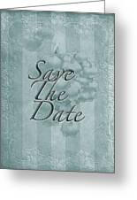 Lily Of The Valley Save The Date Greeting Card Greeting Card
