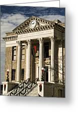 Limestone County Courthouse Alabama Greeting Card