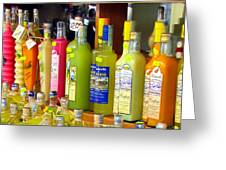 Limoncello From Capri Greeting Card