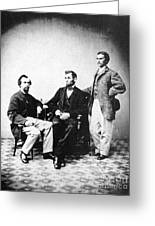 Lincoln & Secretaries, Greeting Card