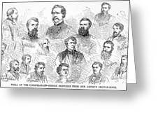 Lincoln Assassins Trial Greeting Card