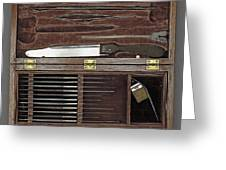 Lincoln Autopsy Kit, 1865 Greeting Card