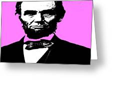 Lincoln Greeting Card by George Pedro