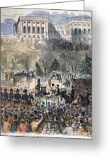 Lincoln Inauguration Greeting Card