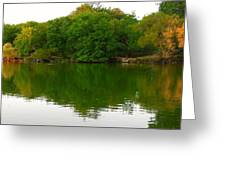 Lincoln Park North Pond In Chicago Greeting Card