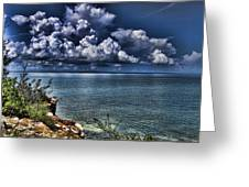 Lingering Clouds Greeting Card