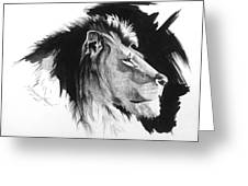Lion 1  Greeting Card