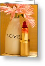 Lipstick Love Greeting Card