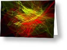Liquid Saphire 23 Greeting Card by Cyryn Fyrcyd