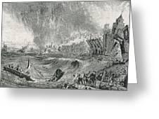 Lisbon Tsunami, 1755 Greeting Card