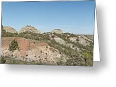 Little Badlands Missouri Panorama1 Greeting Card