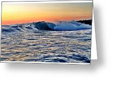 Little Big Wave Greeting Card