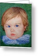 Little Boy Blue Greeting Card