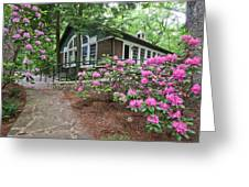 Little Brown Church In Spring Greeting Card