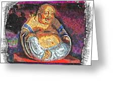 Little Buddha - 2 Greeting Card
