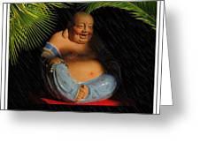 Little Buddha - 8 Greeting Card