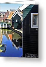 Little Dutch Houses Greeting Card