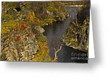 Little Gorge Greeting Card